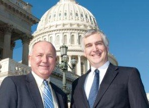 Rep. Pete Hoekstra and Fred Fleitz, December 2010